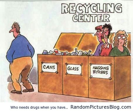 Recycling Center - from www.RandomPicturesBlog.com