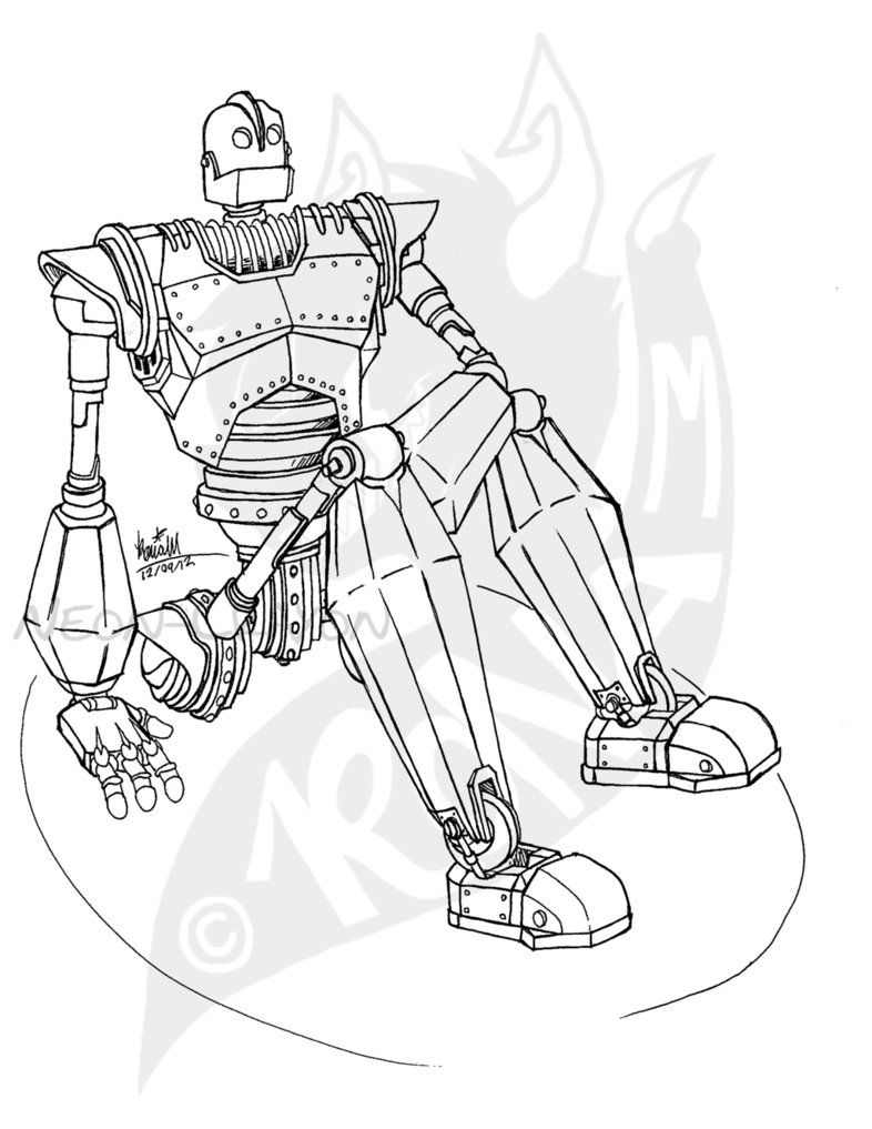 Iron Giant Coloring Page : giant, coloring, Giant, Coloring, Pages, Sketch, Pages,, Animal, Books