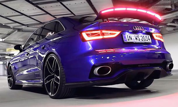 Audi A3 Clubsport Quattro Concept Video Exotic Cars Pinterest