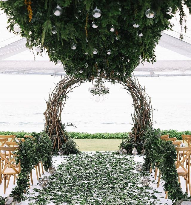 This Forest Inspired Ceremony From