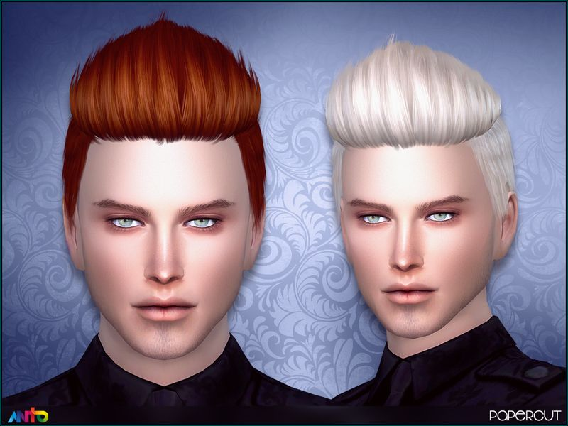 Short Spiky Hair For Your Sims Found In TSR Category 'Sims