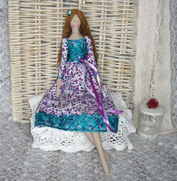 Tilda doll handmade Kellie. FREE GIFT. Doll tilde. Textile doll ...
