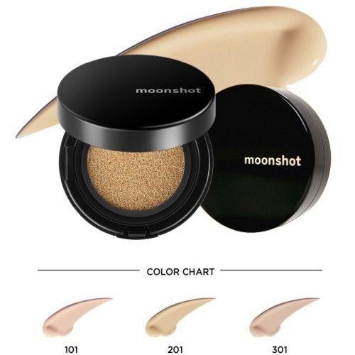 MOONSHOT GD Microfit Cushion All Skin Types Foundation SPF 50+ YG Cosmetic Korea #MOONSHOT