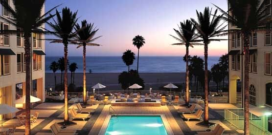 What A Breathtaking View At Loews Santa Monica Beach Hotel