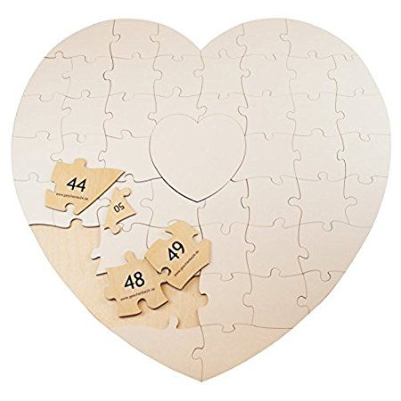 Geschenke 24 Holz Puzzle Herz Zum Beschriften Kreative Hochzeitsgeschenke Selber Gestalten Ein Sch Kreative Hochzeitsgeschenke Geschenke Hochzeitsgeschenk