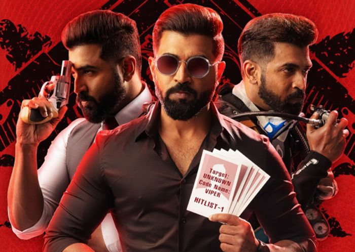 Arun Vijay's Mafia First Look Poster