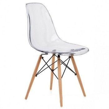 Chaise Transparente Design DSW