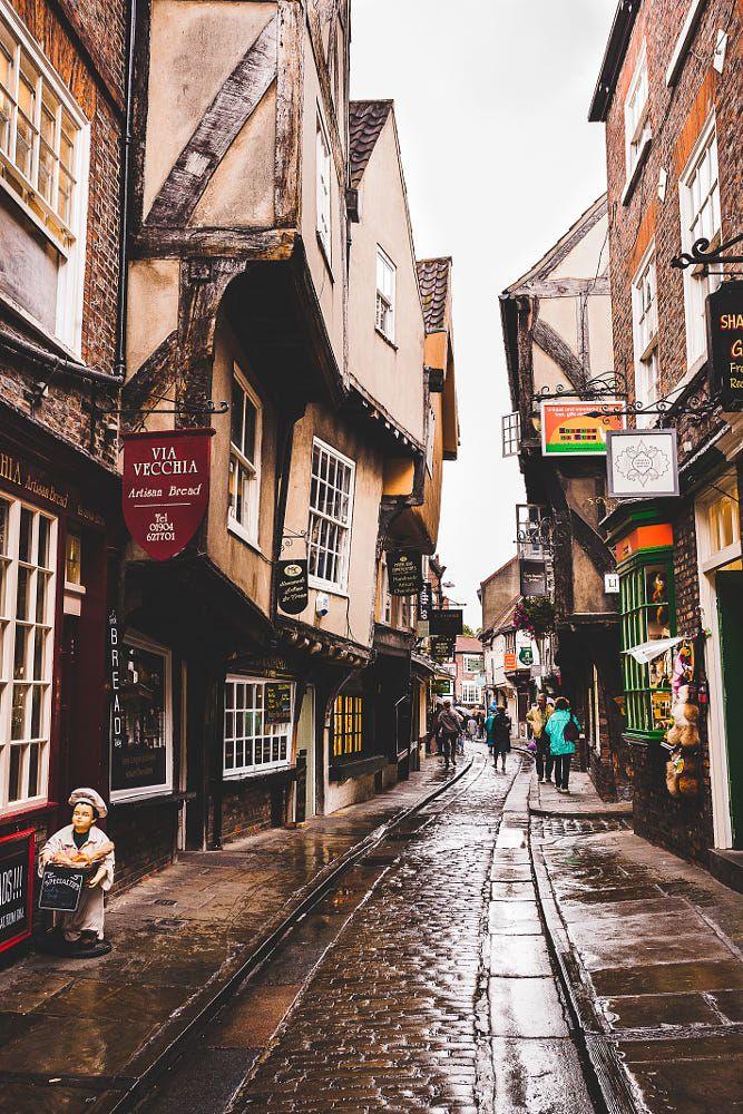 The Shambles York England Travel Around Europe York
