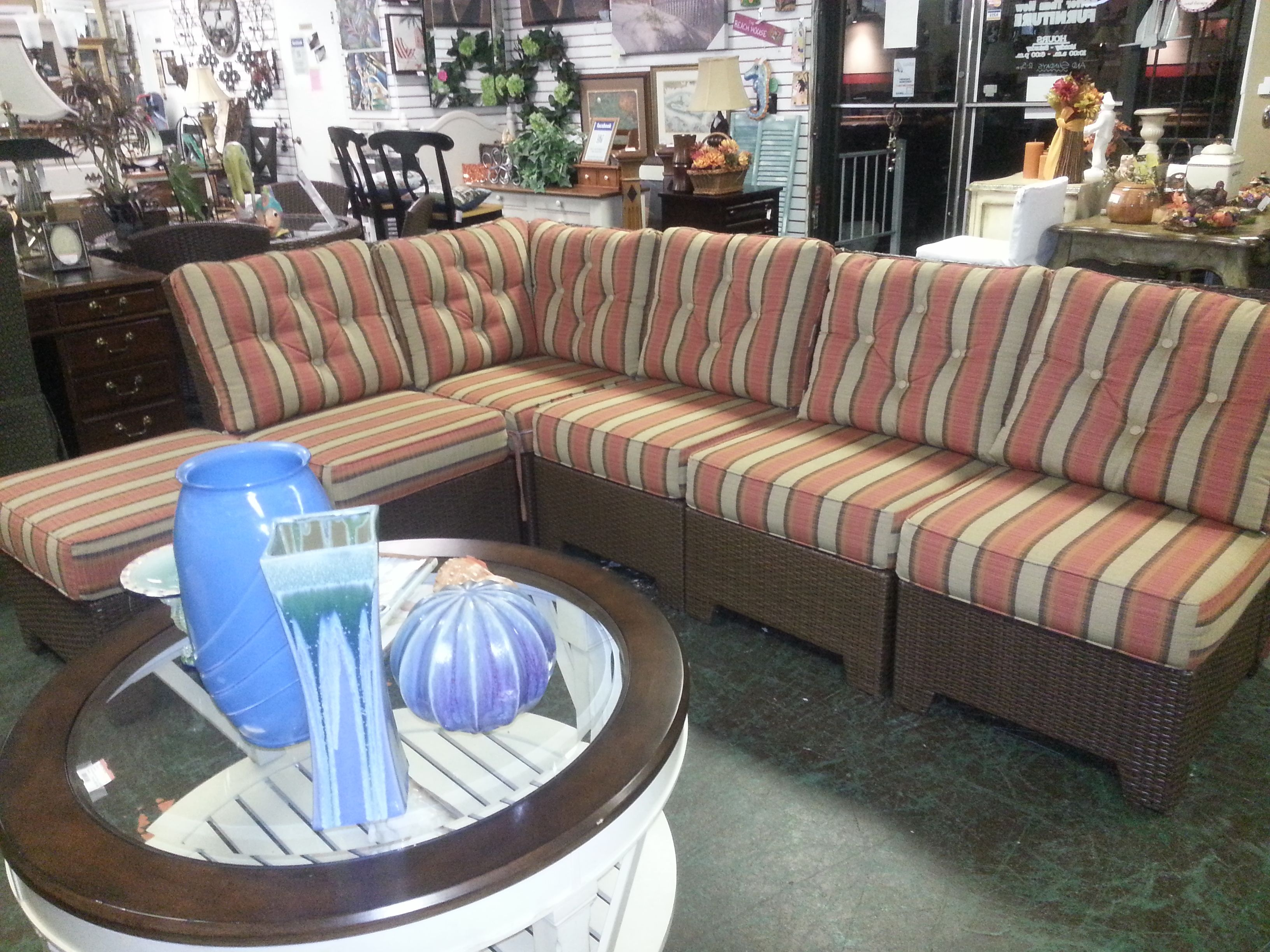 Captivating Everyone Wanted To Take This Patio Sectional Home! One Lucky Shopper Got It  :)