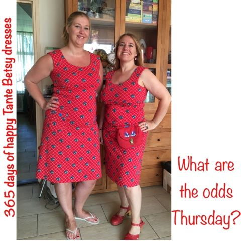 365 days of happy Tante Betsy dresses: What are the odds Thursday?