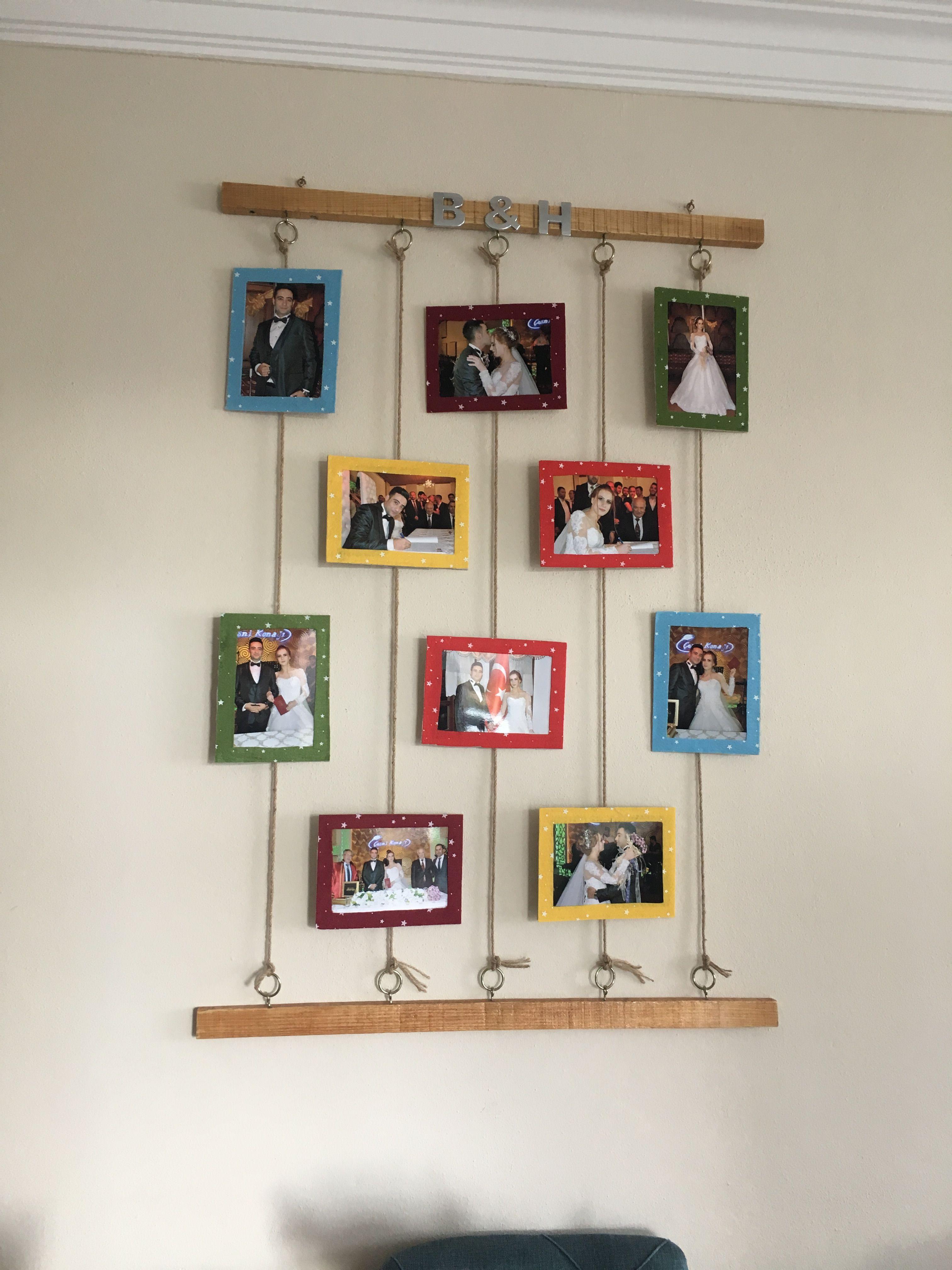 Pin By Sapna Gupta On New House Ideas Frame Wall Decor Diy Home Bedroom Frames
