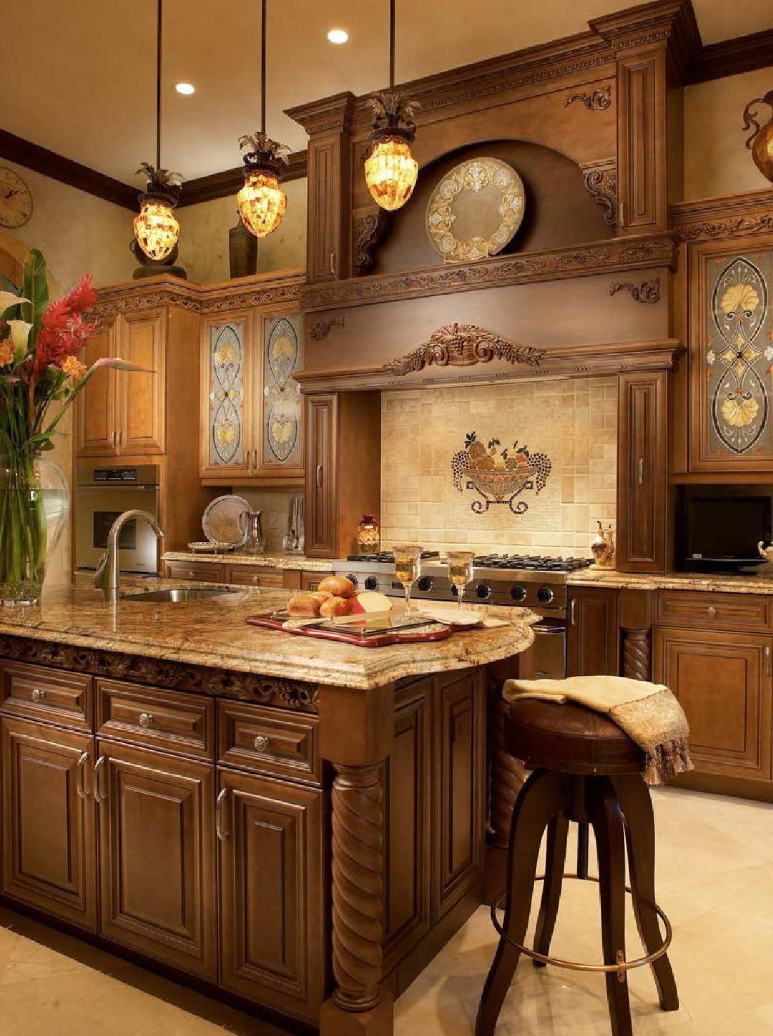 European Neo-classical Style II   Rustic kitchen decor ...