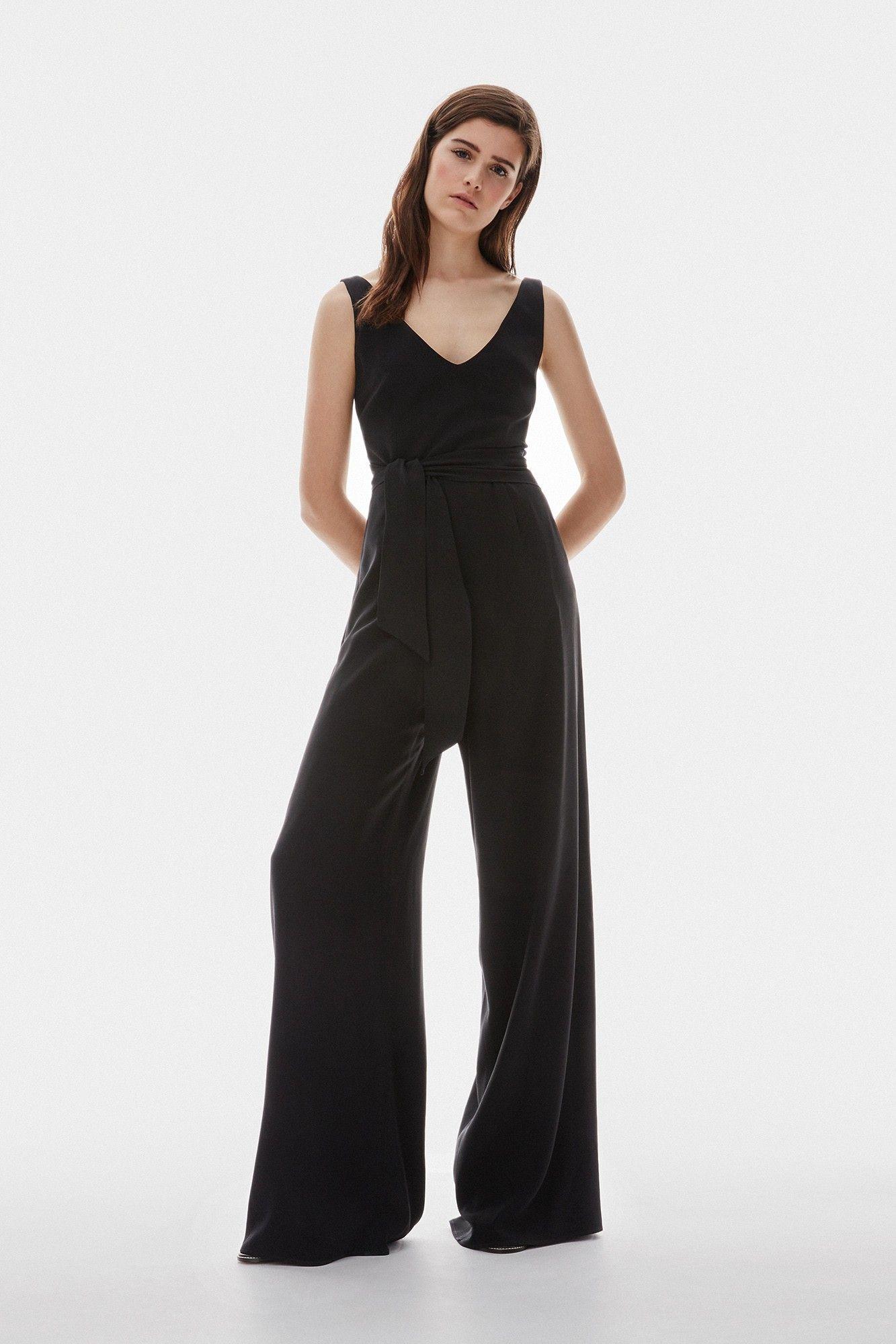 Vestido negro adolfo dominguez