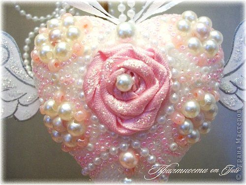 Decor items Masterclass Valentine's Day Beading MK Tender Heart