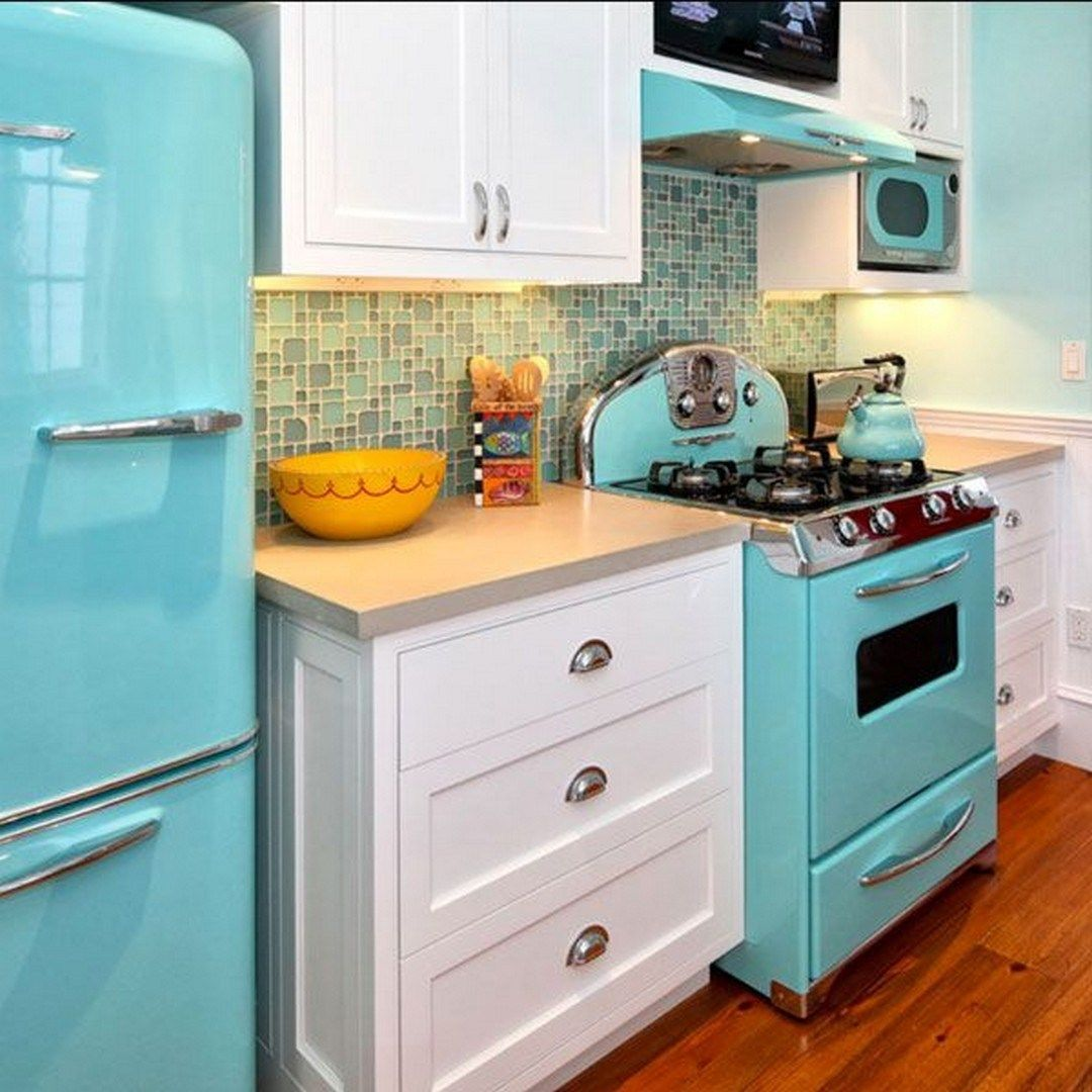 Vintage Style Kitchen Appliance Product And Design 20 Retro