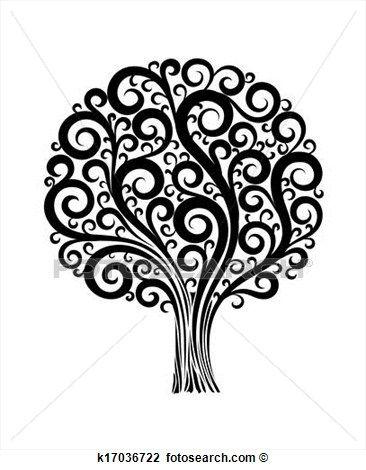 arbre original dessin recherche google arbres pour fresque flower designs design et black. Black Bedroom Furniture Sets. Home Design Ideas