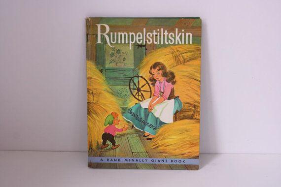Vintage Rumpelstiltskin book 1959 by fuzzymama on Etsy, $12.00
