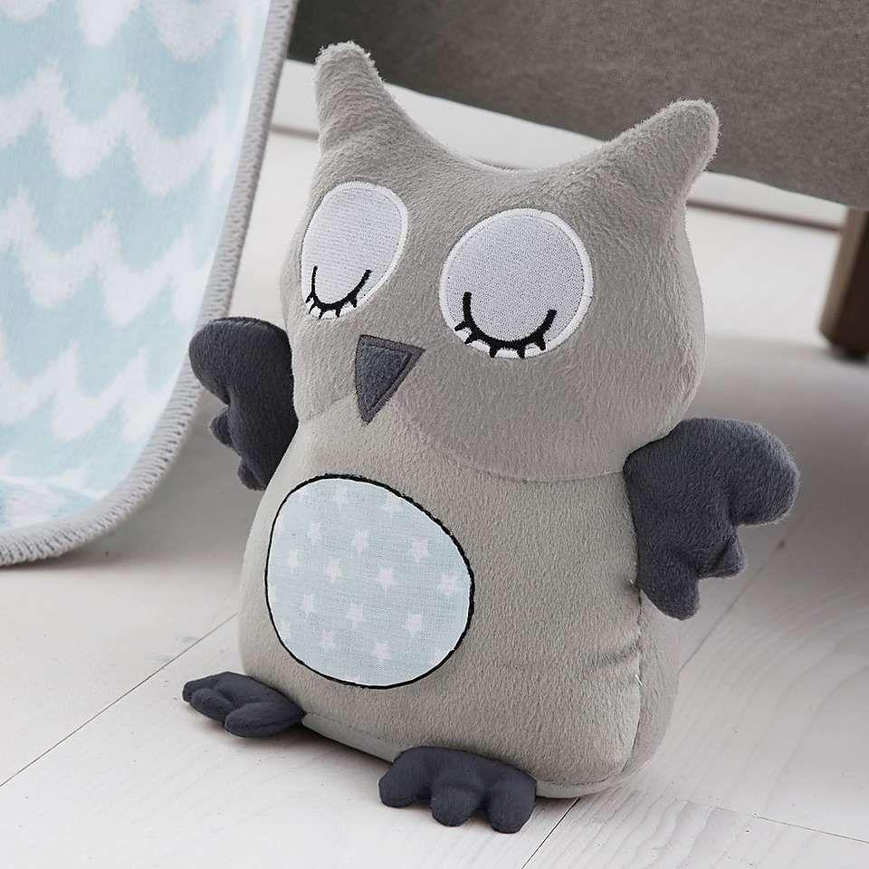 Little Owls Nursery Doorstop | Dunelm