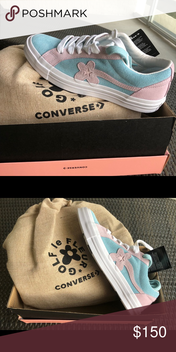 b5ce503087a1 Converse Sneakers Tyler the creator x converse Golf Le Fleur x One Star Ox   Plume  women s 8 men s 6 Brand new never worn with box Converse Shoes  Sneakers