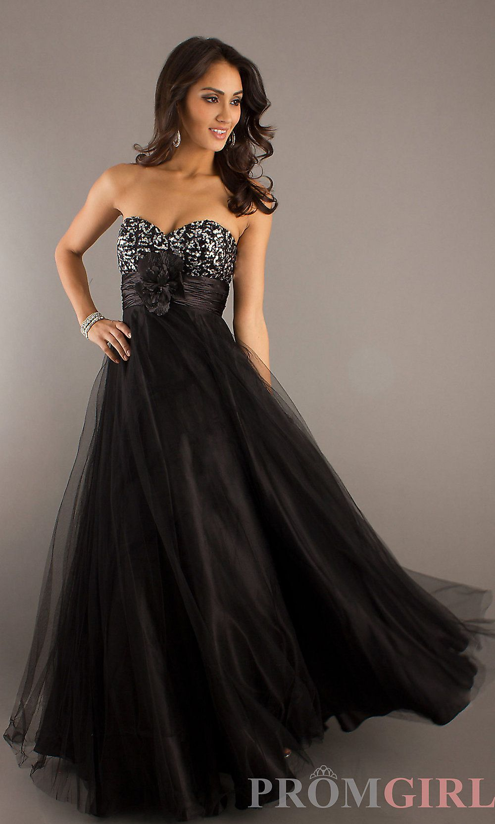 Full Length Strapless Formal Gown Flowy Prom Dresses Dresses Formal Dresses [ 1666 x 1000 Pixel ]