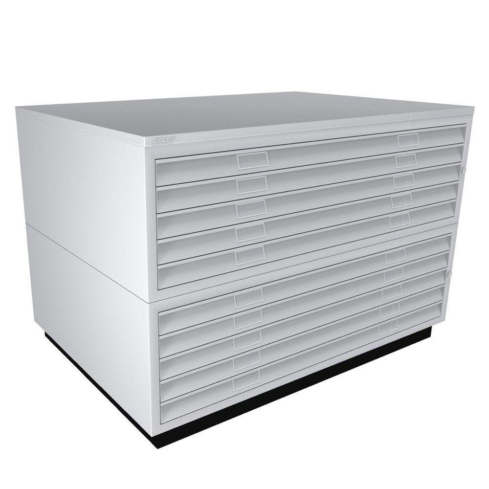 A0 Bisley Plan File 10 Drawer Drawers Outdoor Storage Box How To Plan