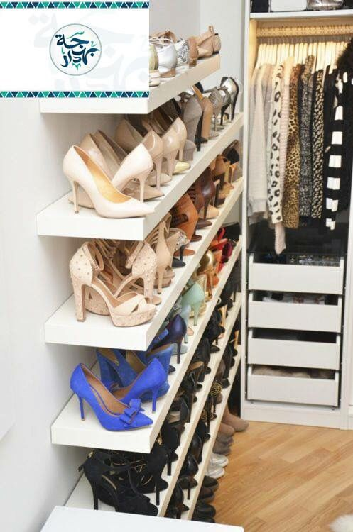Great Way To Organize Shoes. Except I Donu0027t Own Many Shoes At All. Iu0027d Use  This Space To Display My Many Handbags.