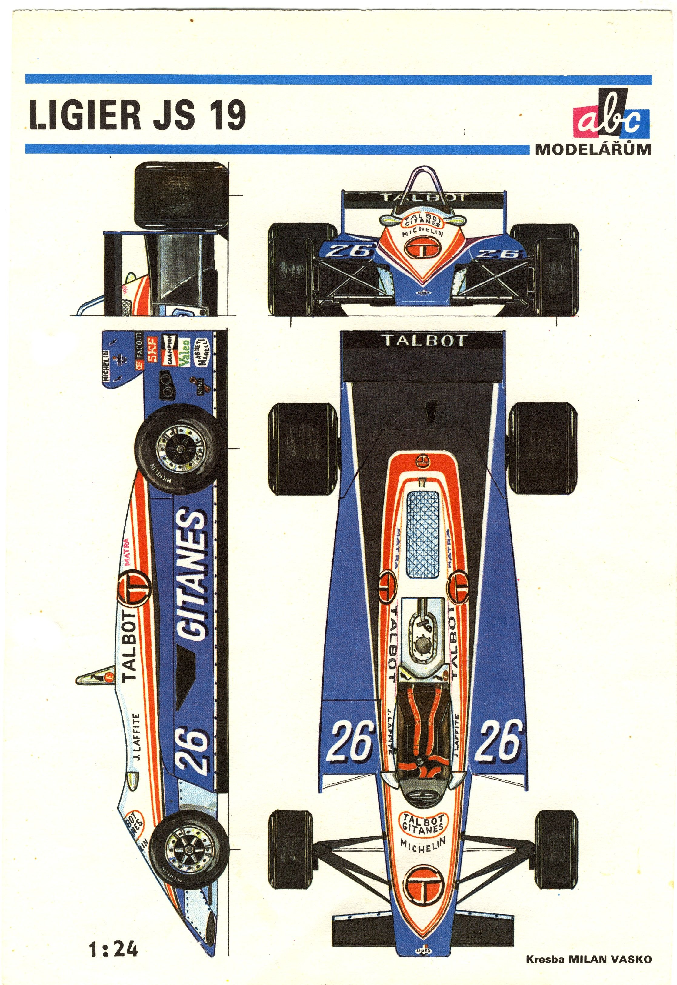 Ligier js19 f 1 blueprint pinterest f1 cars and car drawings ligier js19 malvernweather Images