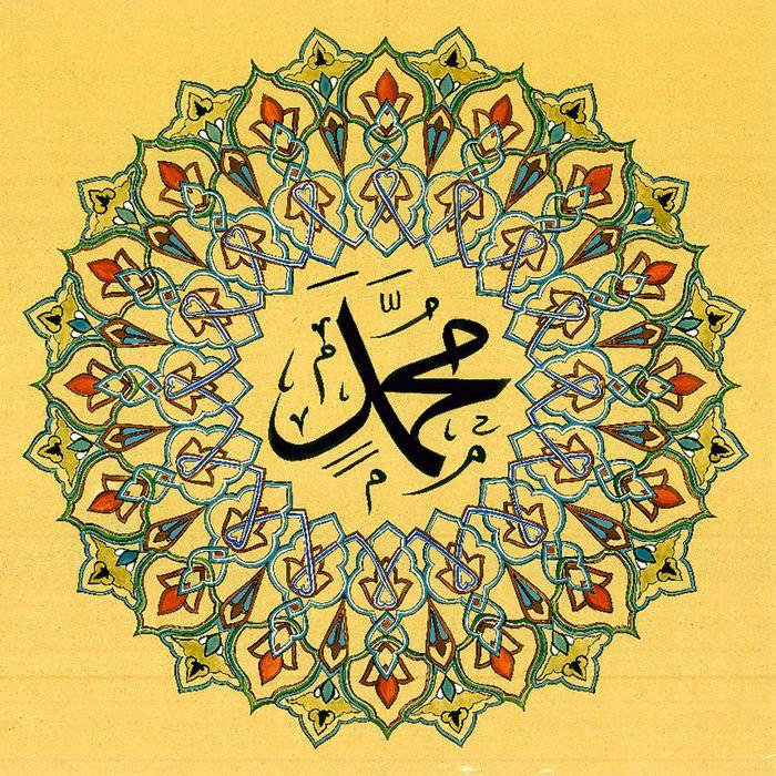 Muhammad May The Prayers And Peace Of Allah Be Upon Him Hand