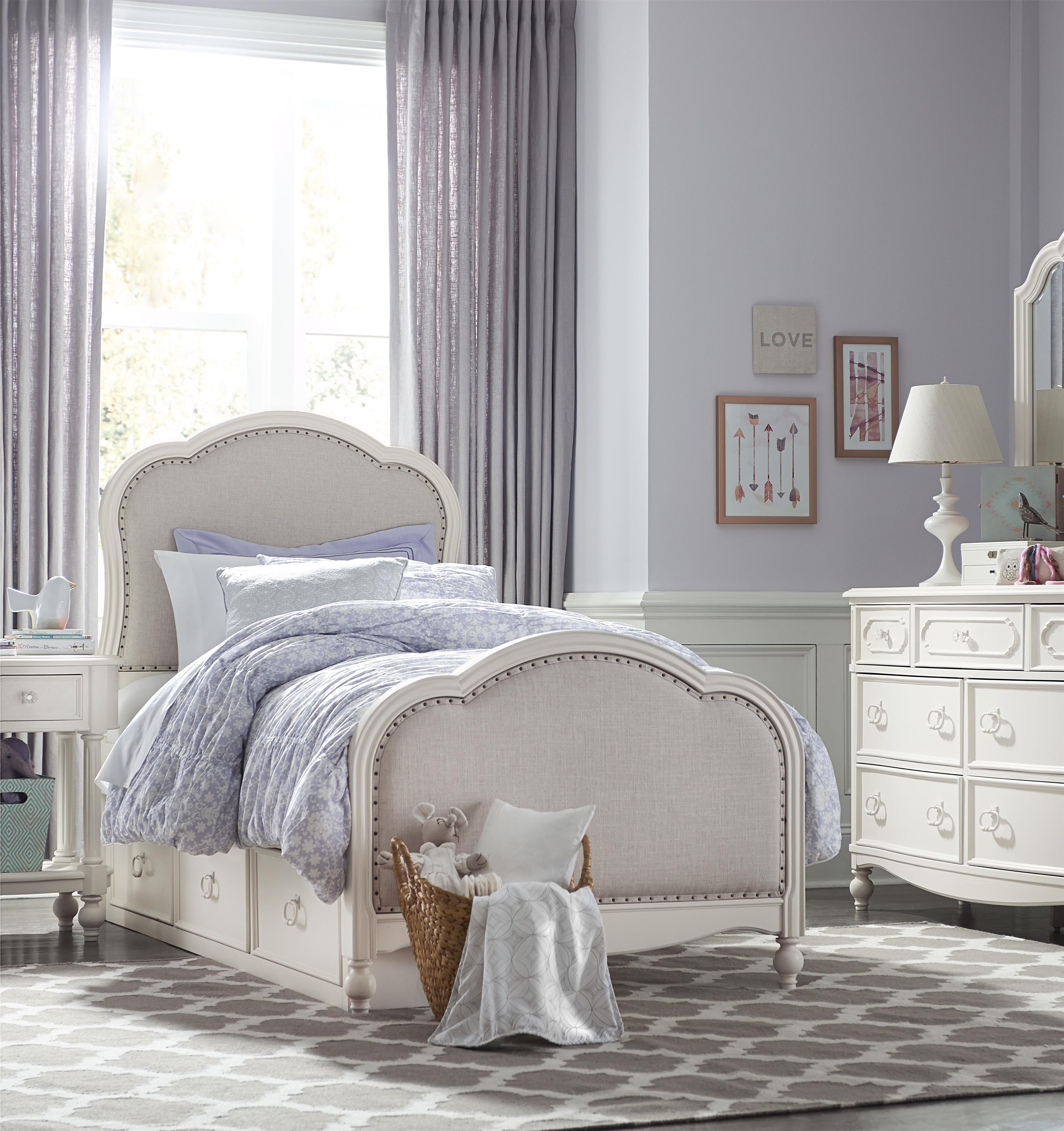Harmony Twin Bedroom Group By Legacy Classic Kids At Conlin S Furniture Kids Bedroom Sets Kid Beds Upholstered Panel Bed