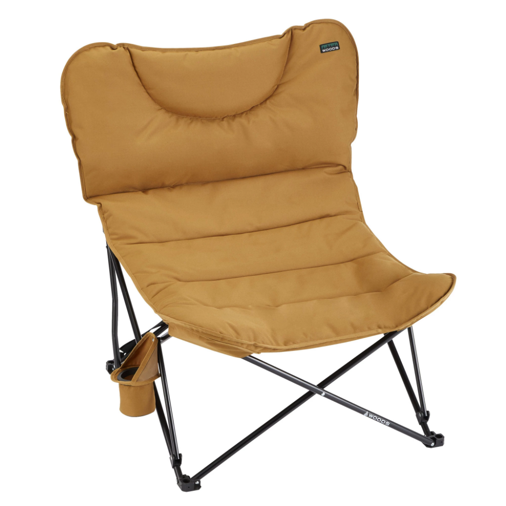 Woods Mammoth Folding Padded Camping Chair Dijon Camping Chair Camping Chairs Simple Storage