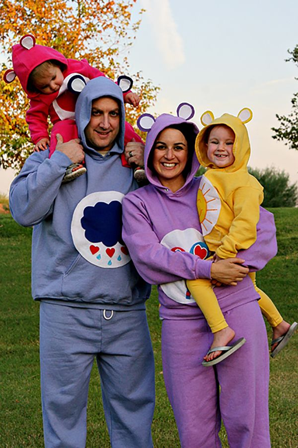Adorable DIY Halloween Costume Idea for Families- The Care Bears#Halloween # Costume #DIY  sc 1 st  Pinterest & Adorable DIY Halloween Costume Idea for Families- The Care Bears ...