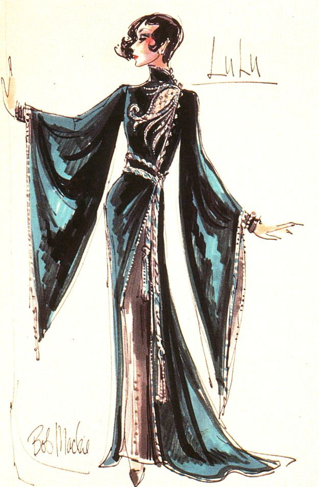 San Francisco Opera Lulu - costumes Bob Mackie