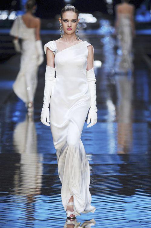 Le défilé Valentino haute couture printemps-été 2008