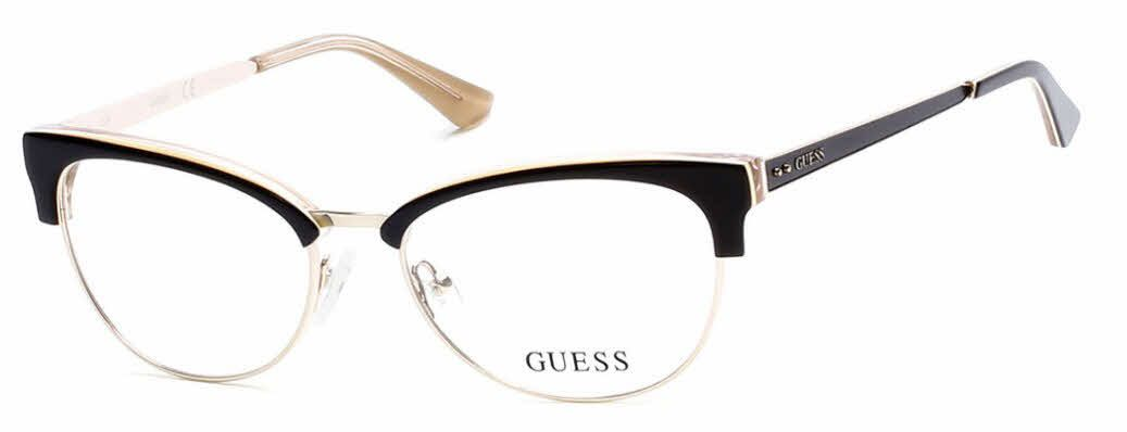 6cae1395cf Guess GU2552 Eyeglasses