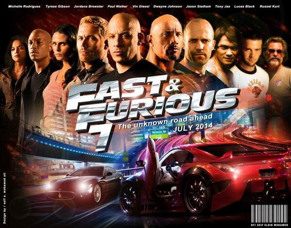 N A M On Twitter Fast And Furious Paul Walker Furious 7 Movie