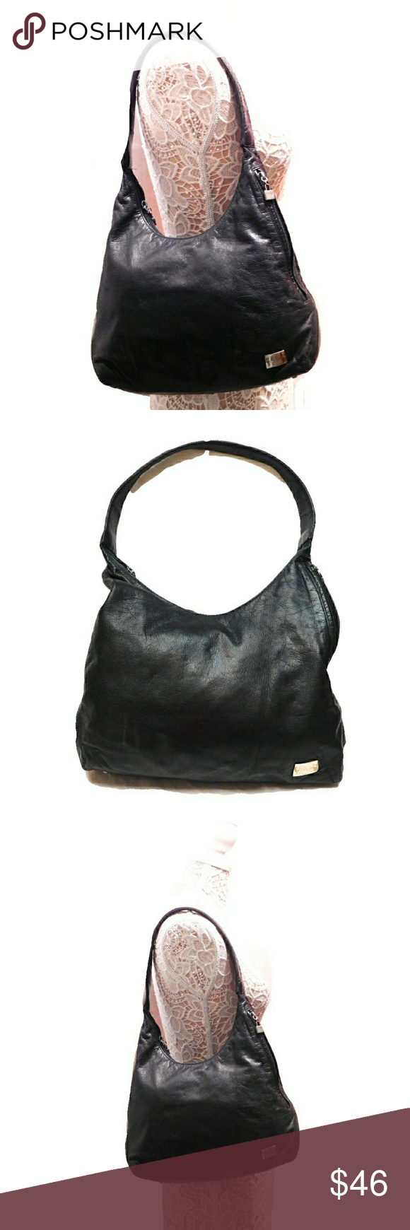 cf36884a68 PERLINA SOFT LEATHER SIDE ZIP CMPMT SHOULDER BAG PERLINA SHOULDER BAG WITH  SIDE ZIPPERS FOR EXTRA