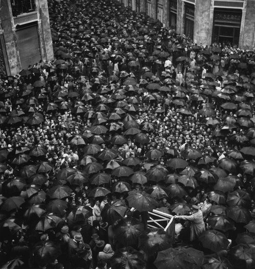 Meeting of the National Liberation Party, Naples, Italy 1944