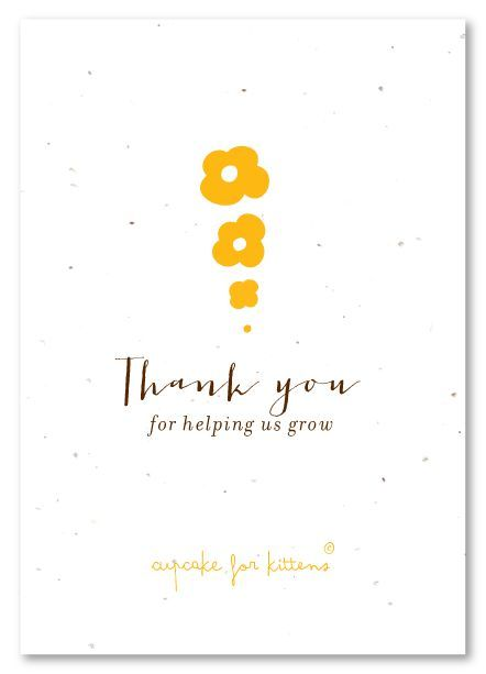 The  Best Business Thank You Cards Ideas On   Diy