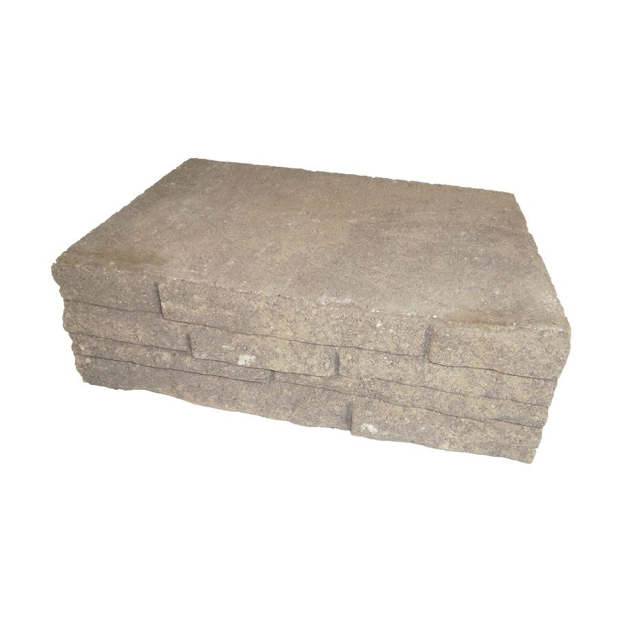 Shop Arcadian Ledgewall Retaining Wall Block Common 12 In X 4 In