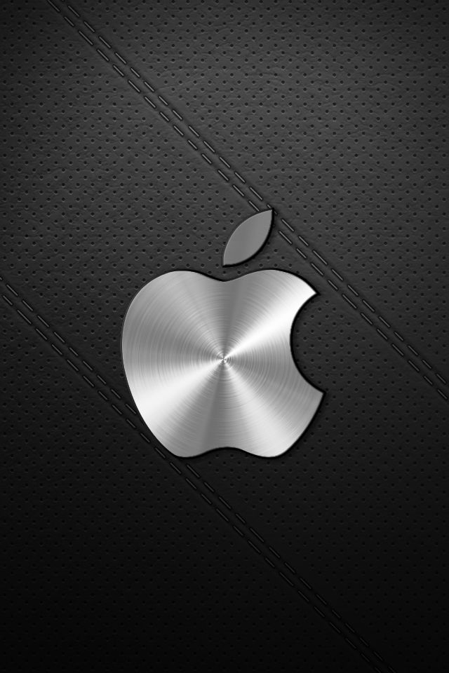 Leather Lock Screen Home Screen Wallpaper Hd Lock Screen Wallpaper Hd Black Apple Logo