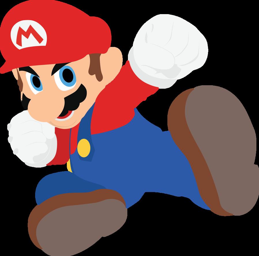 Mario 01 Smash Bros Ultimate Vector Art By Firedragonmatty Smash Bros Mario Bros
