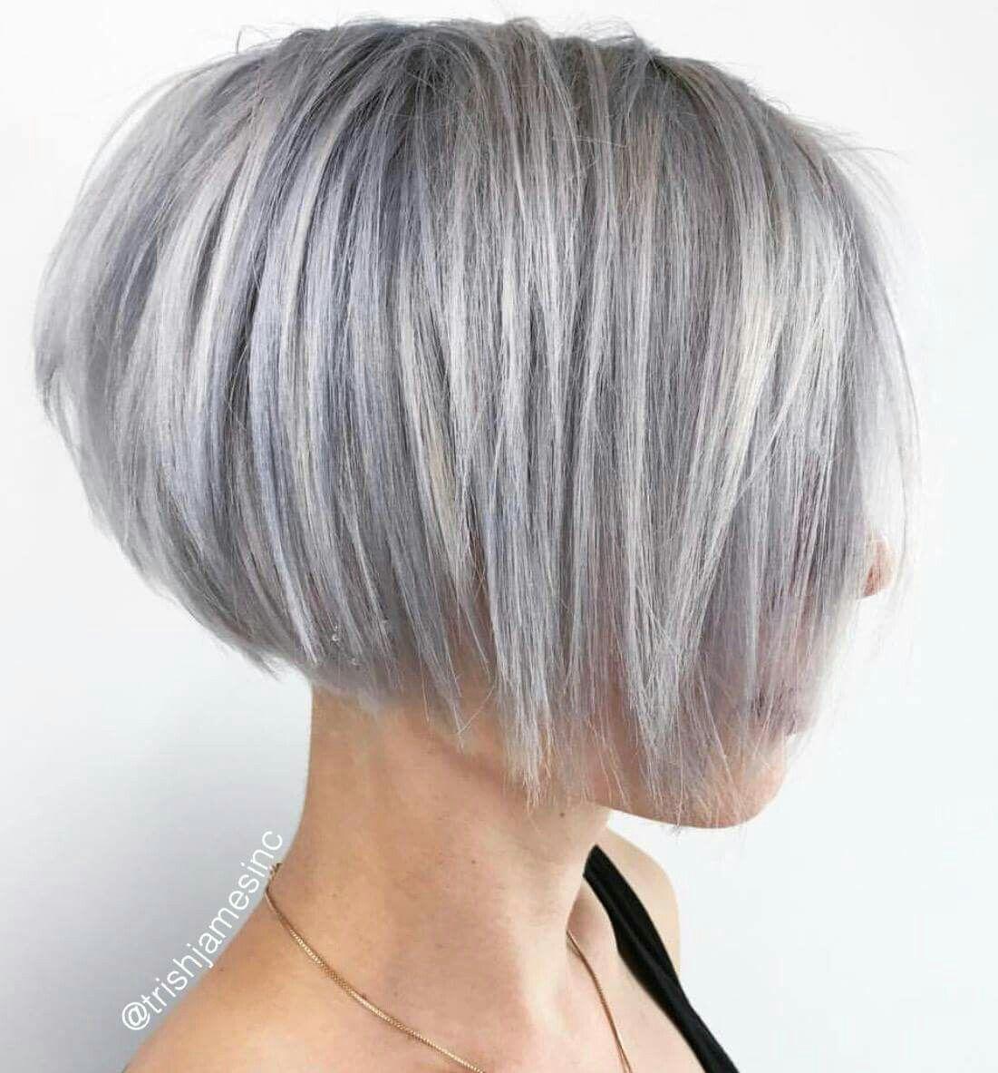 Pin By Bogunia On One Length Haircuts Hair Styles Short Hair Styles Short Hair With Layers
