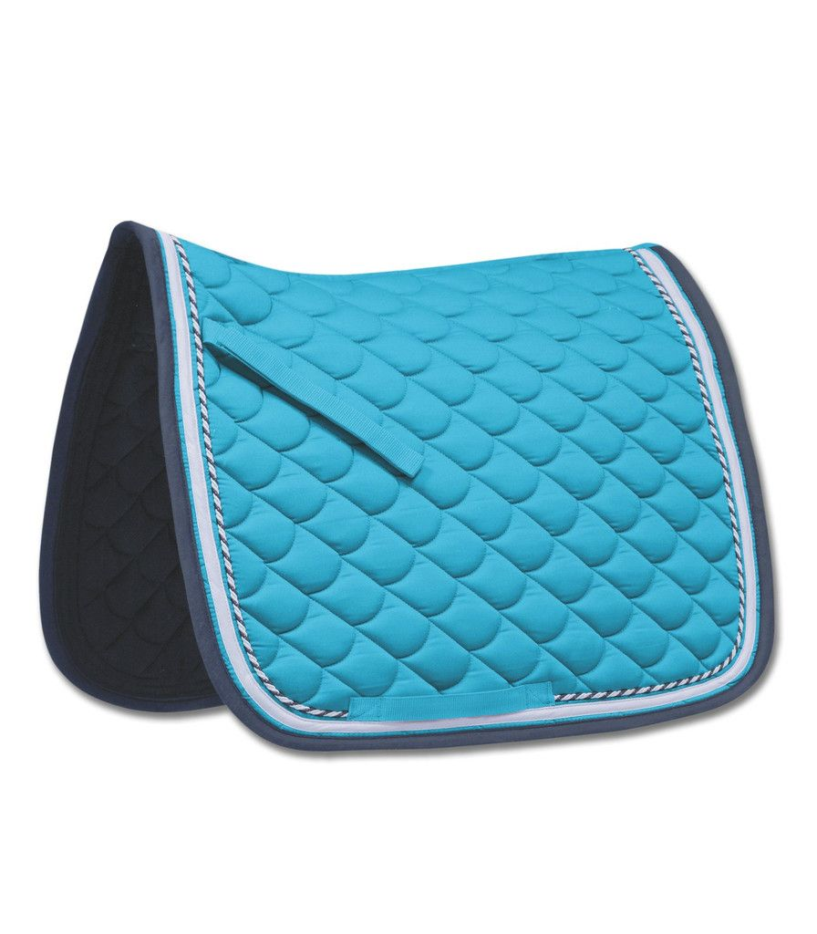 Waldhausen rom all purpose saddle pad turquoise night blue for Tapis bleu turquoise