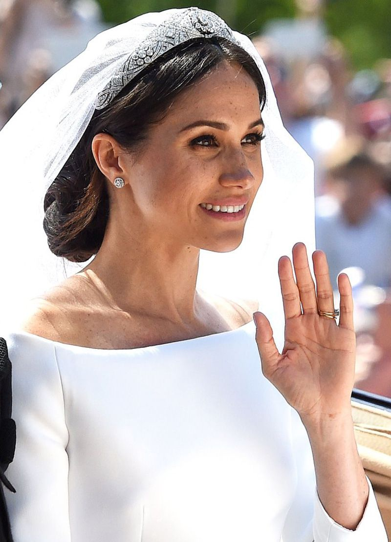 meghan markle's royal wedding hair and makeup were flawless