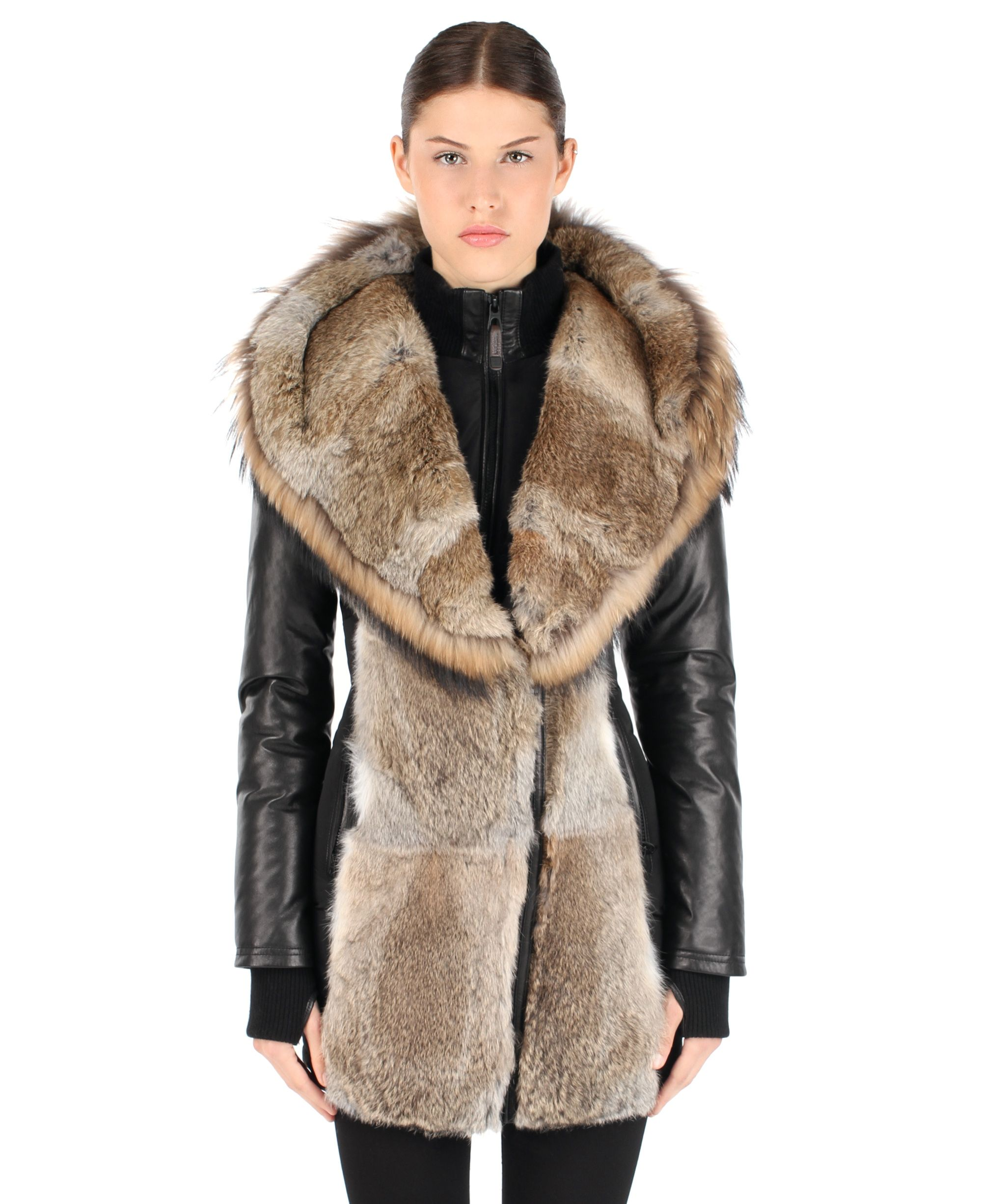 f693ac65c26ee RUDSAK A Fur Savvy Lady (BLACK, MEMORY FABRIC/GENUINE LAMB LEATHER ) |  ARLY. Find this Pin and more ...