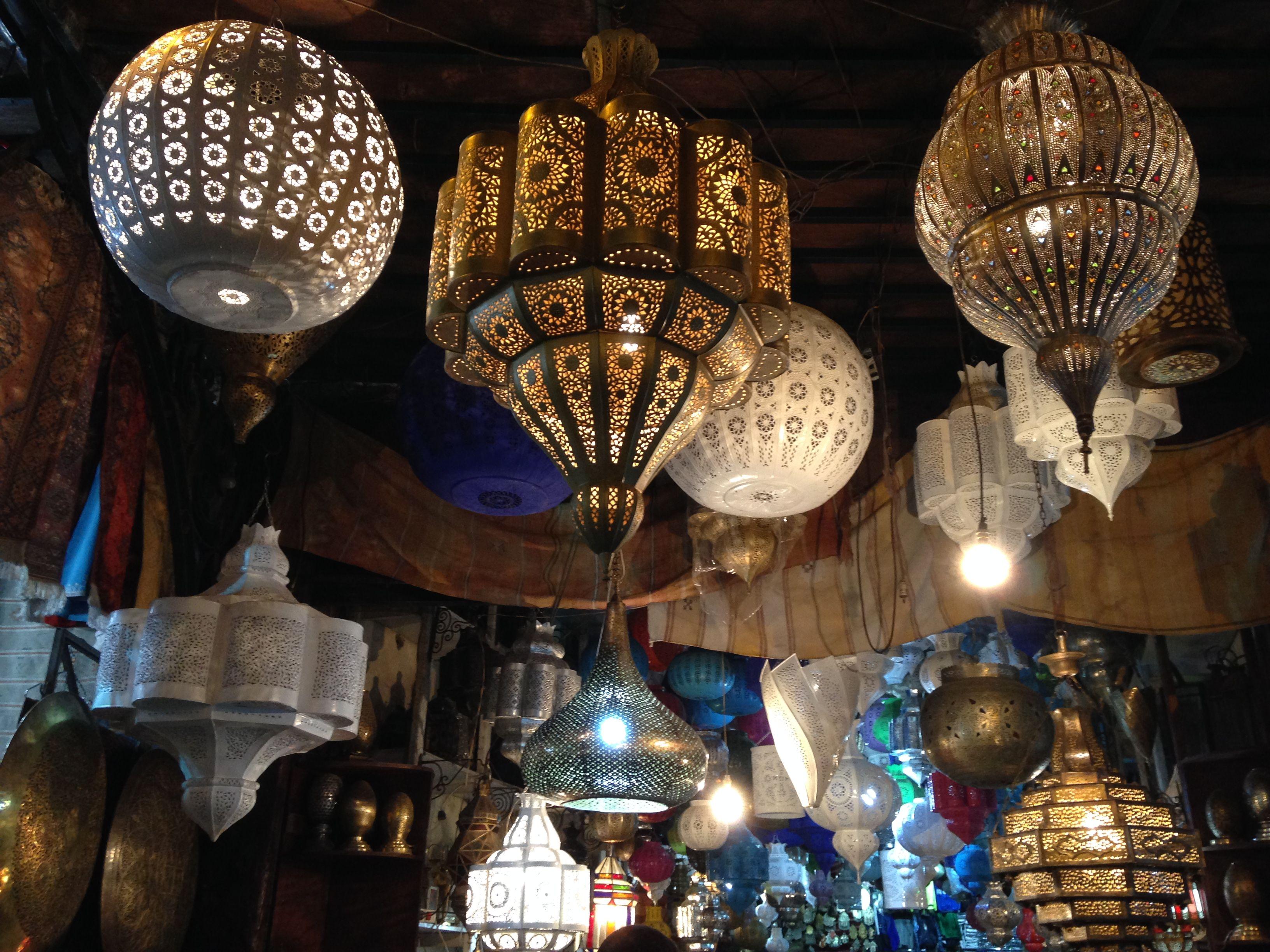 Tienda de lámparas