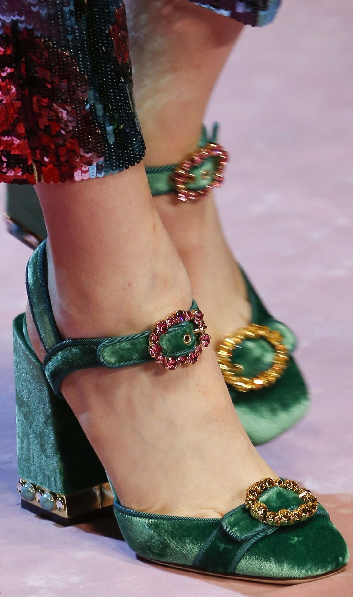 Polka Dots Printed KEIRA Wedges Spring/summerDolce & Gabbana KjqS21yYt