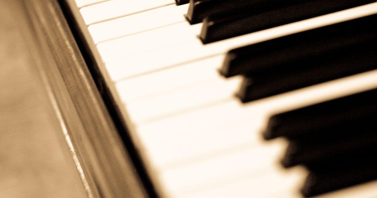Cómo tocar piano al estilo cumbia The piano, Teclas de