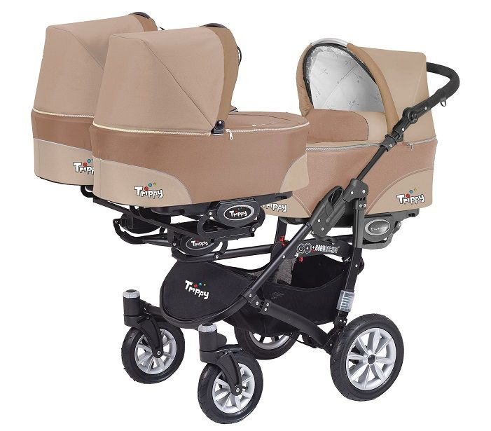 Baby Active Trippy Baby Pram Travel System 3in1 - Cappucino , Cheap Baby Accessories in Poole, Dorset and UK