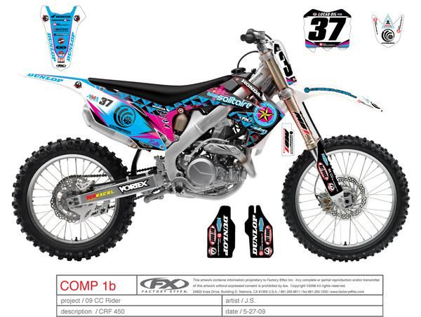 Girl Dirt Bike Decals New Bike Graphics For Hangtown Get Your